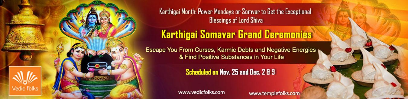 Karthigai Somvar Rituals