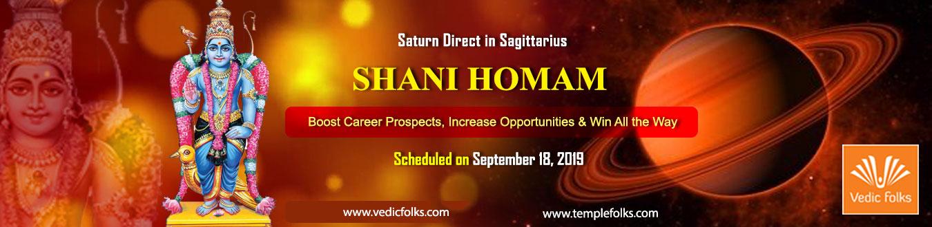 Saturn Direct Spcial Shani Homam