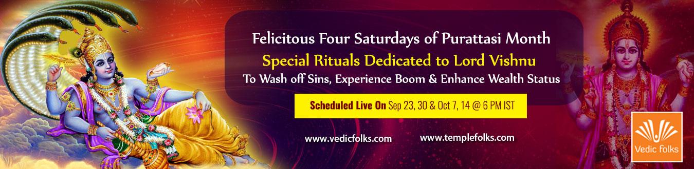 Purattasi Saturday Rituals to Lord Vishnu