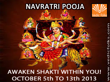 Navratri Pooja and Homams for 9 Days
