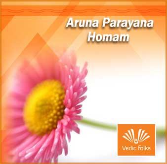 Aruna parayana homam