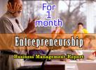 1 month Business Management Report