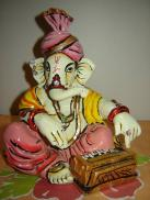 Lord Ganesha Playing Music