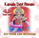 Kamala Devi Homa   Let your Life Blossom!