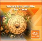 Glance into your life's agenda for 1 year from now!