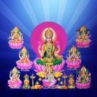 Ashta Lakshmi Homam on Lakshmi Jayanti