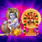 Krishna Jayanthi Special Maha Sudarshana and Santana Gopala Homam