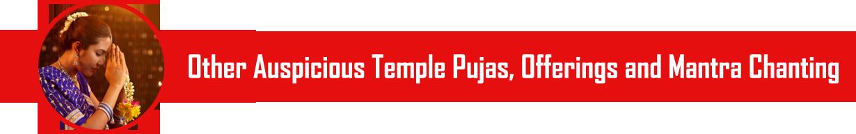 Temple Puja