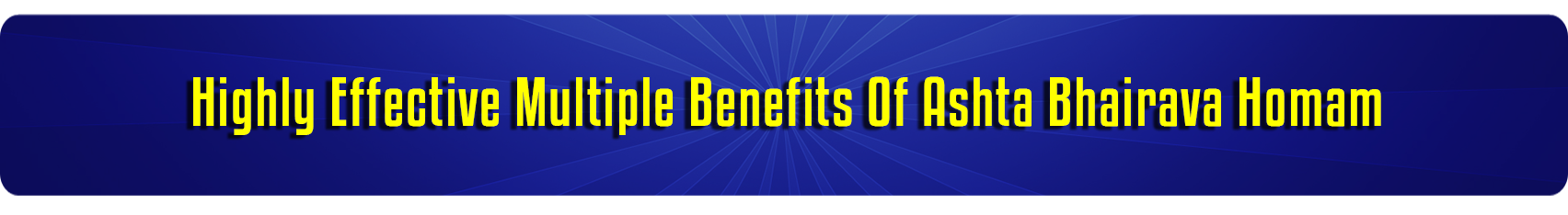 Combined Benefits